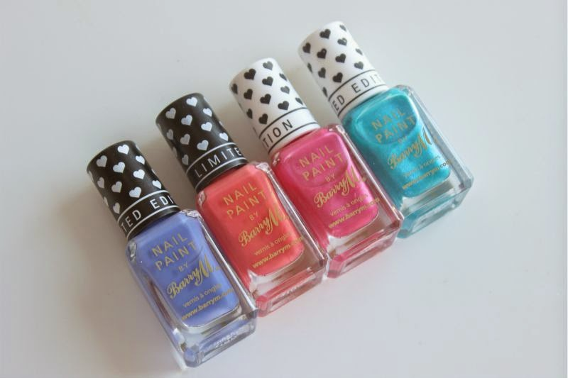 Barry M Limited Edition Nail Paints 2014