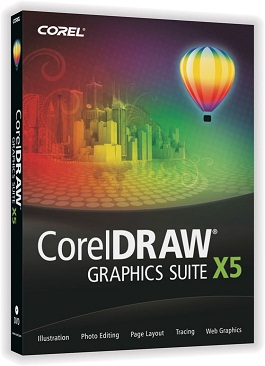 Capa CorelDRAW Graphics Suite X5 SP3 v15.2.0.686 + Serial