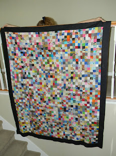 My Current Postage Stamp Quilt!