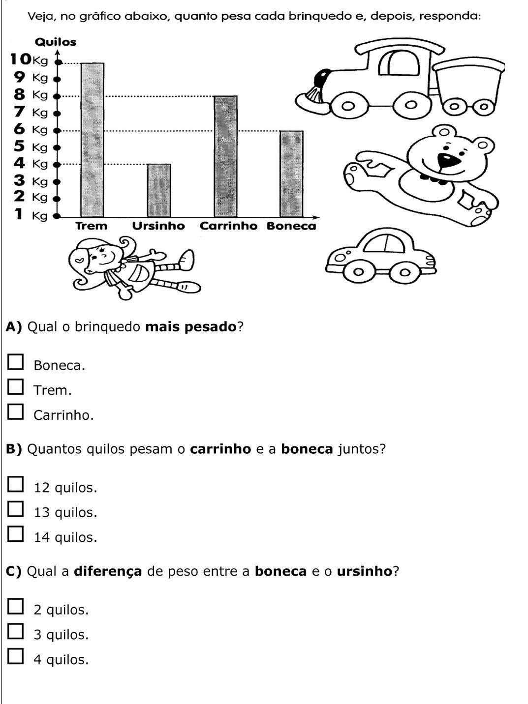 Preferência Atividades Educativas: MATEMÁTICA - 1º e 2º ANO VH24