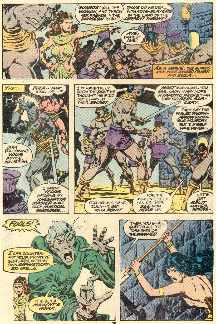 Conan the Barbarian (1970) Issue #88 #100 - English 17