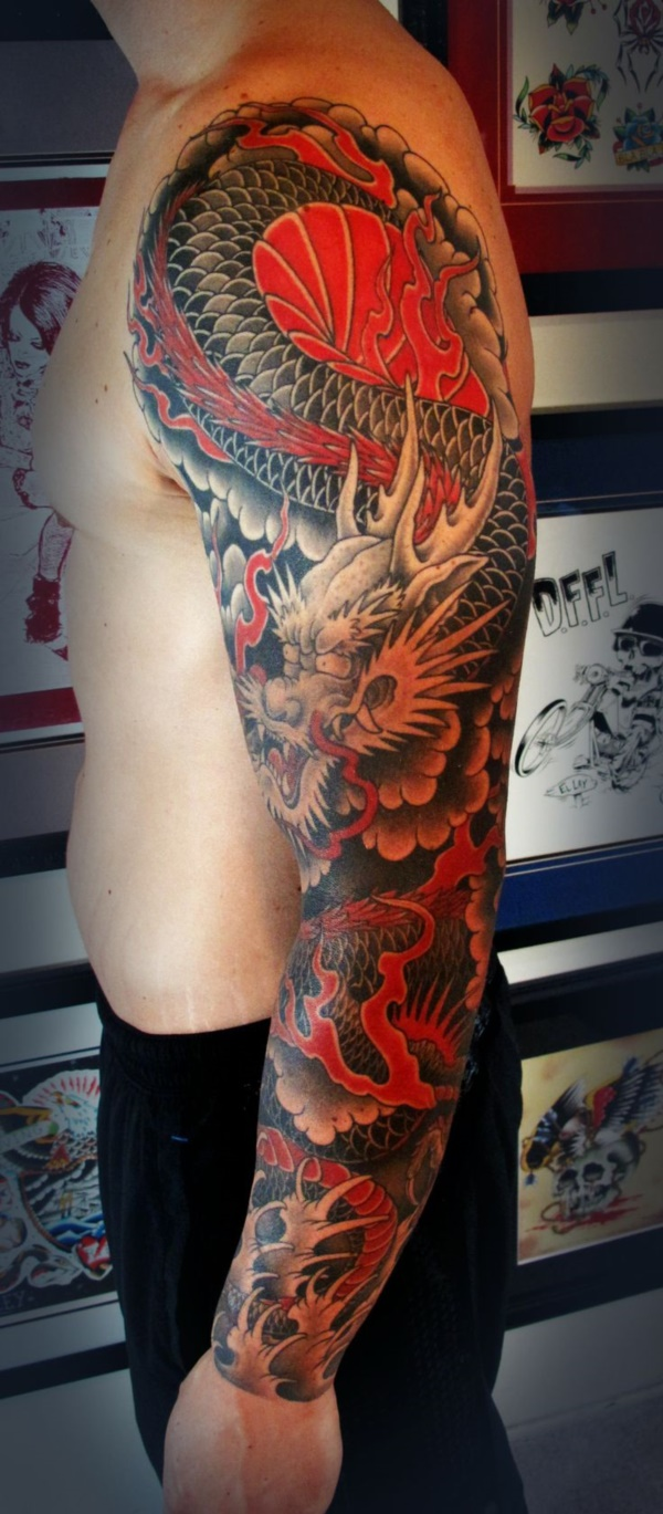 Japanese Sleeve Tattoos for Mens and Womens - Fashion Hippoo