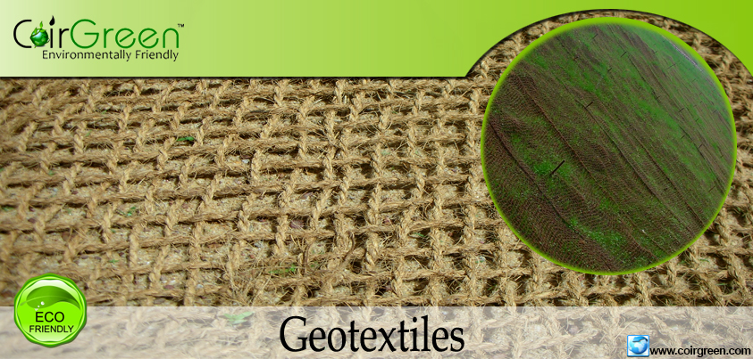 natural geotextiles Geotextiles are permeable fabrics which, when used in association with soil, have the ability to separate, filter, reinforce, protect, or draintypically made from polypropylene or polyester, geotextile fabrics come in three basic forms: woven (resembling mail bag sacking), needle punched (resembling felt), or heat bonded (resembling ironed felt.