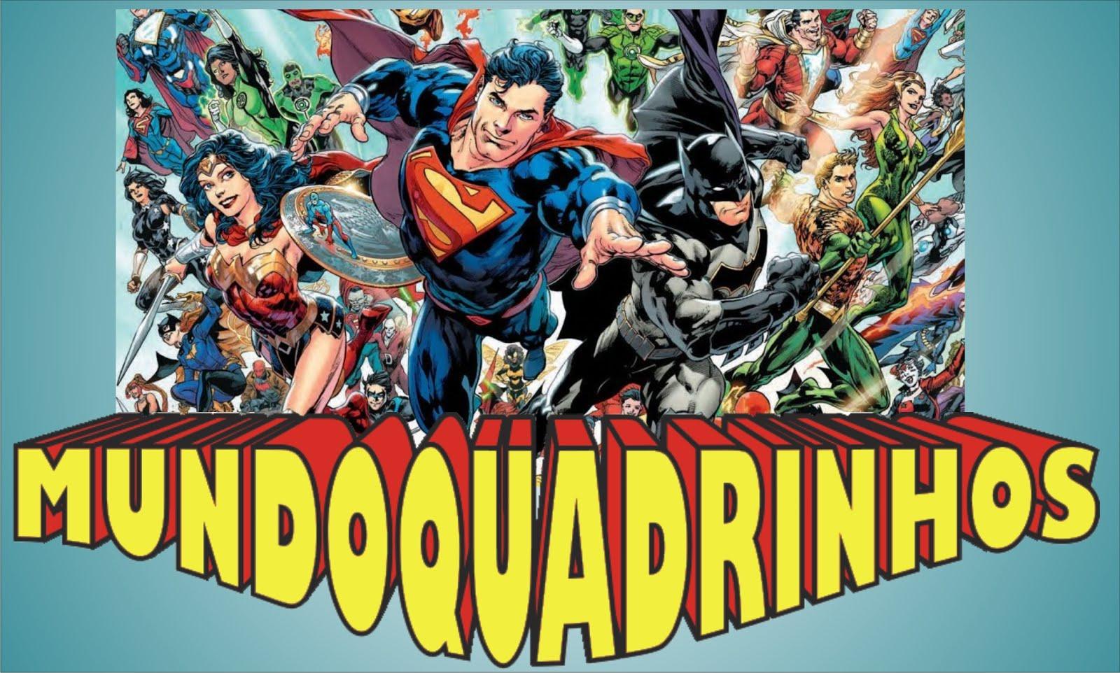 Mundo Quadrinhos - Criadores de Gibis,  BDs e Comics