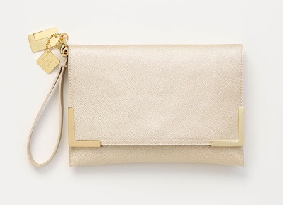 The Limited Golden Anniversary giveaway, limited gold clutch.