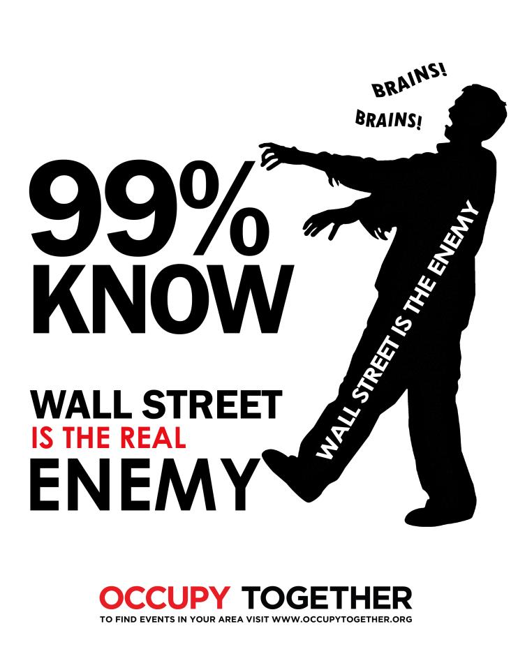 Art Collaboration: Mixed Mediums of Occupy Wall Street Art