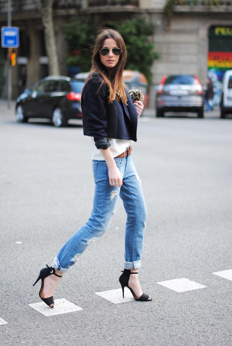 oh my trend 8 9 boyfriend jeans rolled cuff in moda veritas. Black Bedroom Furniture Sets. Home Design Ideas