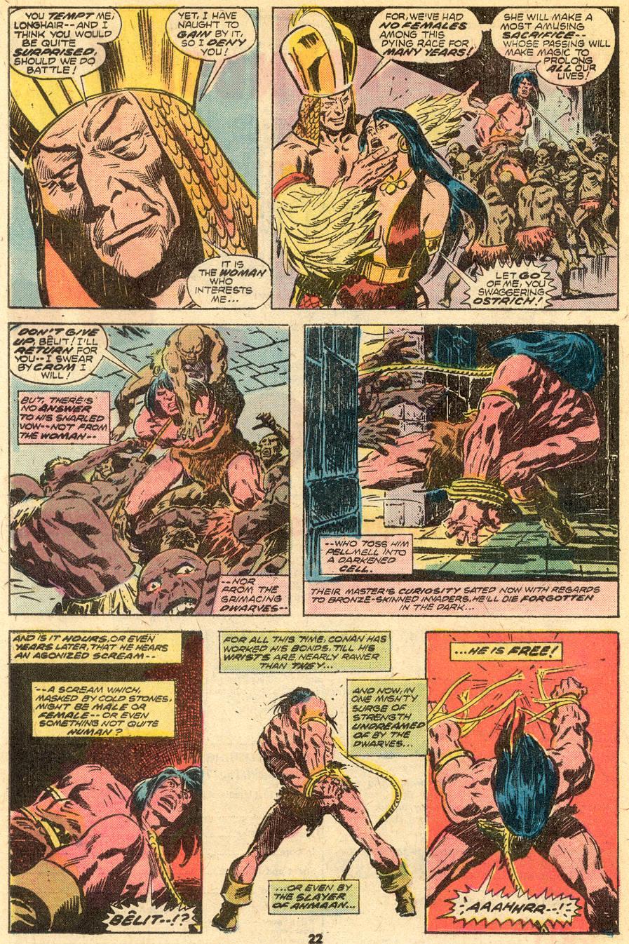 Conan the Barbarian (1970) Issue #65 #77 - English 13