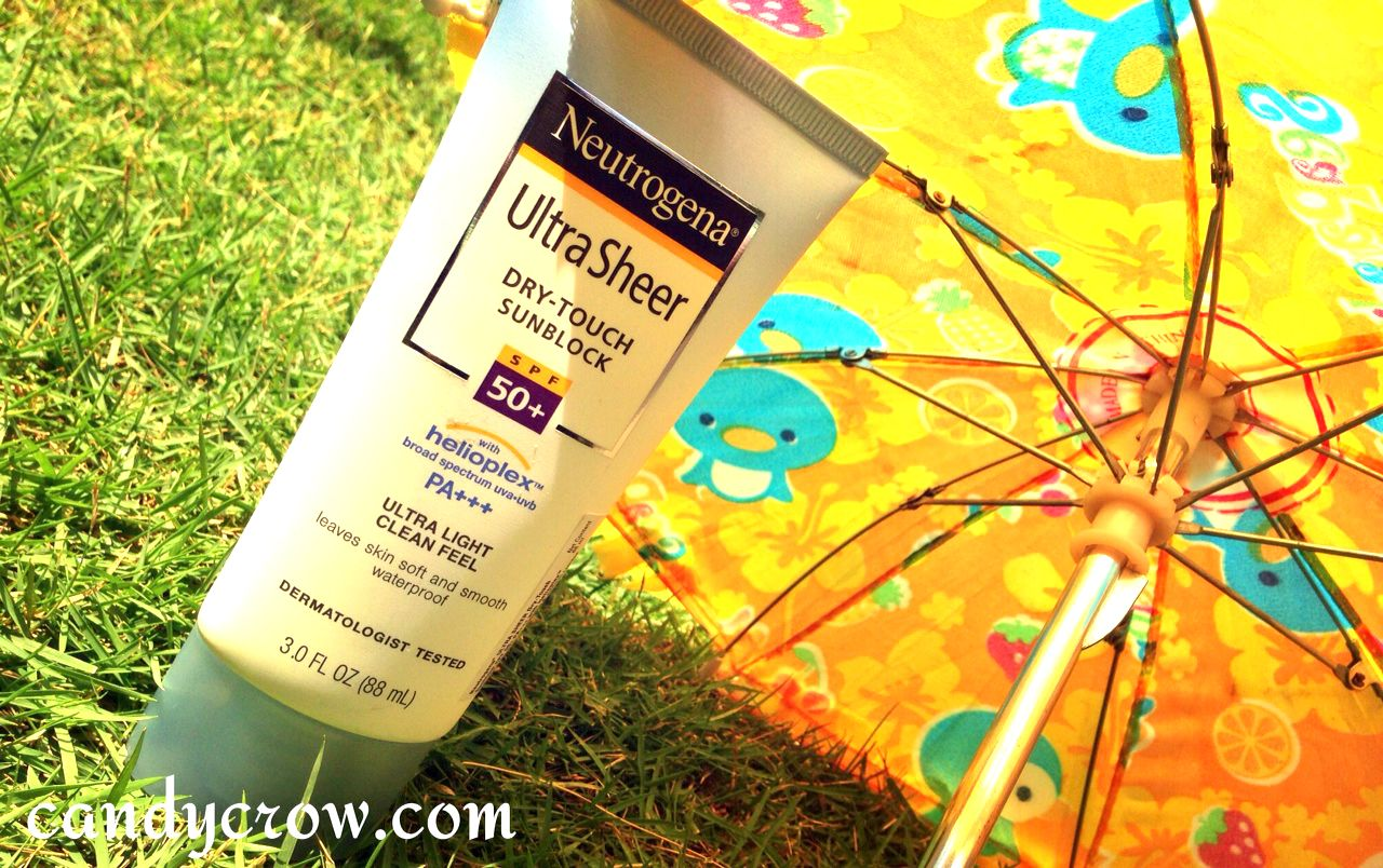 Neutrogena Ultra Sheer Dry Touch Sunblock Review