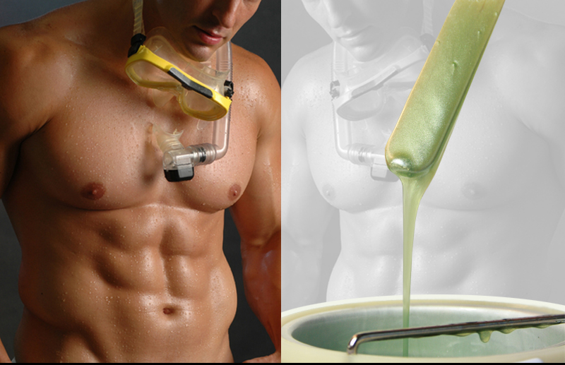 Mens Face Wax : ... removal supply: Male hair removal waxing-items needed for male waxing