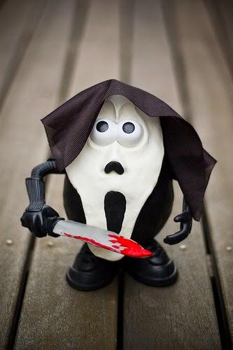 Mr. Potato versión Scream
