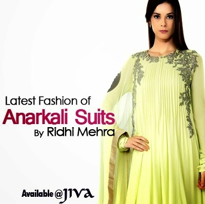 Ridhi Mehra Presented Designer Anarkali Suits