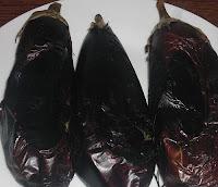 aubergine, gegrild