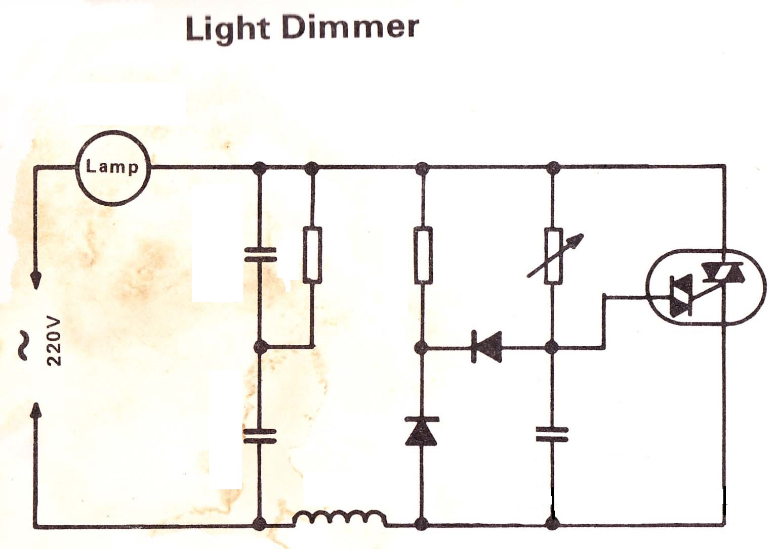 Electrical Standards Dimmer For Lights Electronic 220v Light Semiconductor