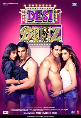 Desi Boyz (2011) DVDScr 700 MB, deshi boyz