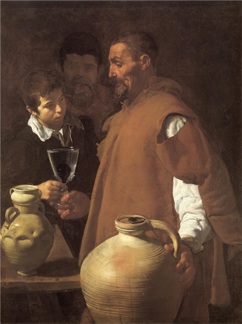 Diego Velazquez, The Waterseller of Seville,art
