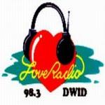 Love Radio Dagupan DWID 98.3 MHz logo
