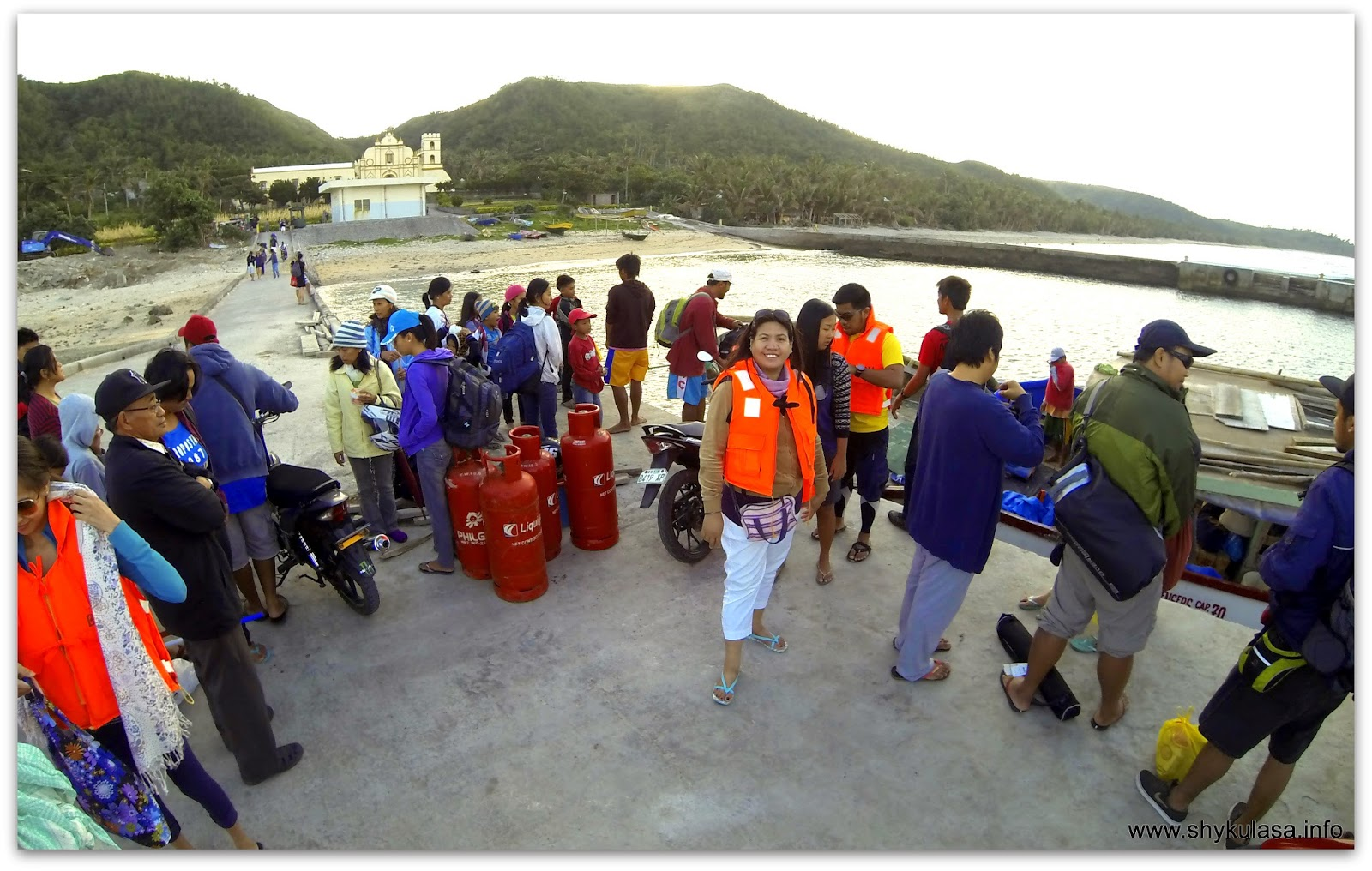 At Ivana Port going to Sabtang Island, Batanes