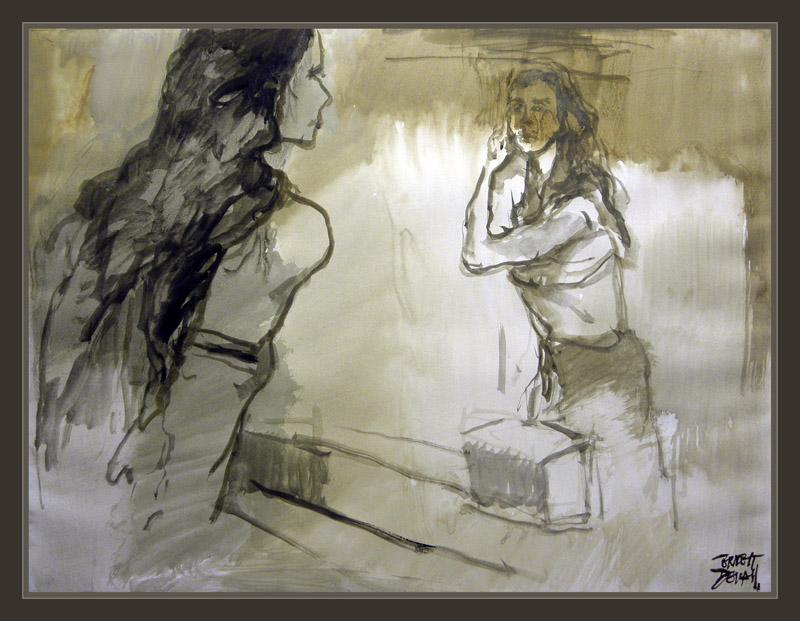 Ernest descals artista pintor mujer actual estetica - Pinturas de moda ...