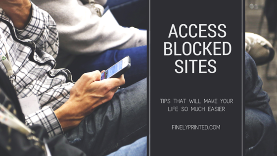 How to access blocked sites in india ccuart Images