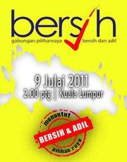 Support Bersih 2.0 Rally