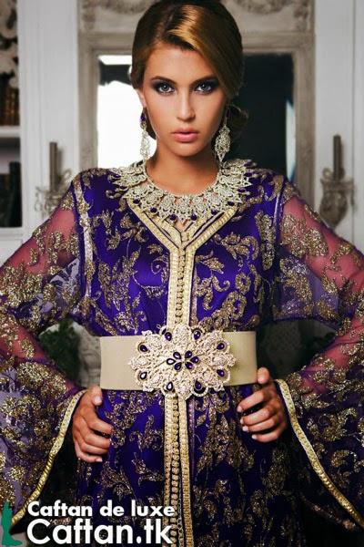 Caftan 2014 | takchita de luxe violet