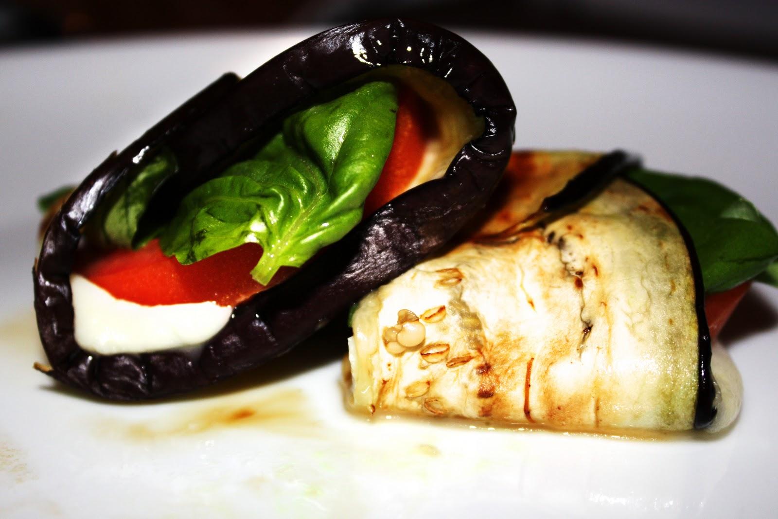 Eggplant Caprese Rolls - Homemade Toast