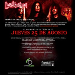 DESTRUCTION EN CHILE 2011