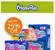 Shopclues: Buy Mamy Poko Pants Diapers upto 45% off