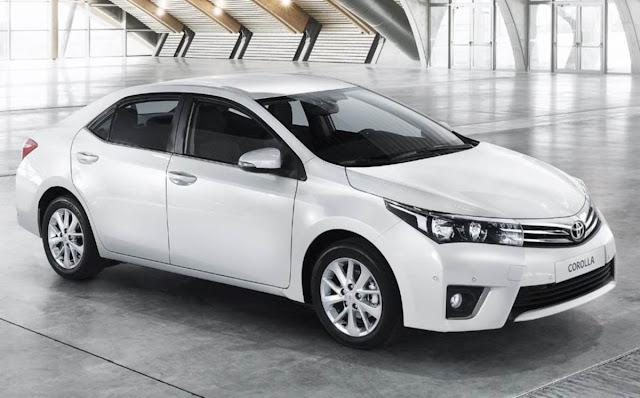 Toyota Corolla 2014 - versão européia