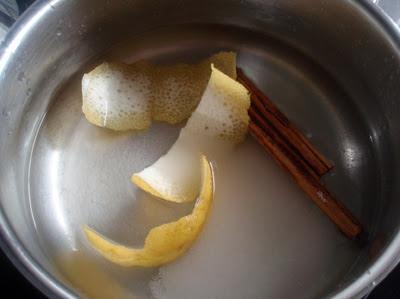 preparando la compota
