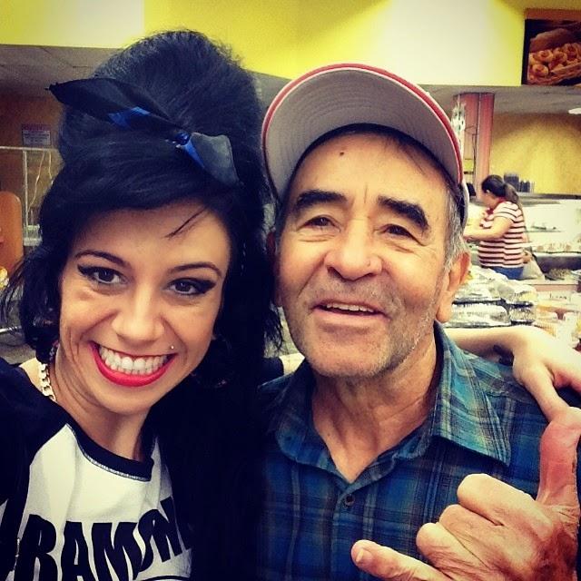 Sósia Amy Winehouse e Ivo Holanda