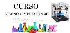 ¿Quieres aprender a diseñar e imprimir en 3D?
