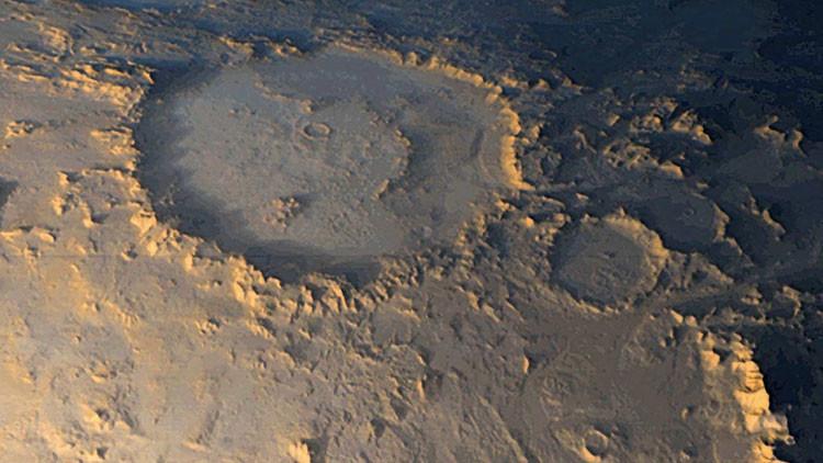 En Marte si hay agua líquida también puede haber vida.