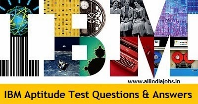 job aptitude test questions and answers pdf