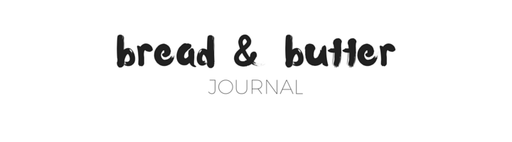 bread and butter journal