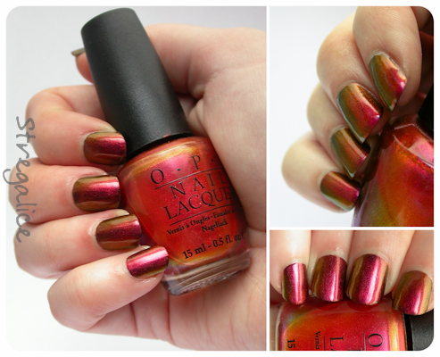OPI Man of La Mancha swatch multichrome duochrome