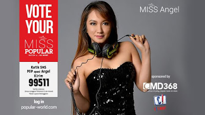 MISS POPULAR 2015 : DJ Angel