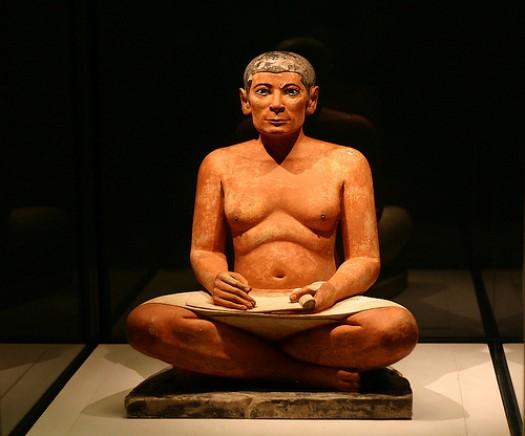 El escriba sentado El-Escriba-Sentado-Museo-del-Louvre.-e1317130525166