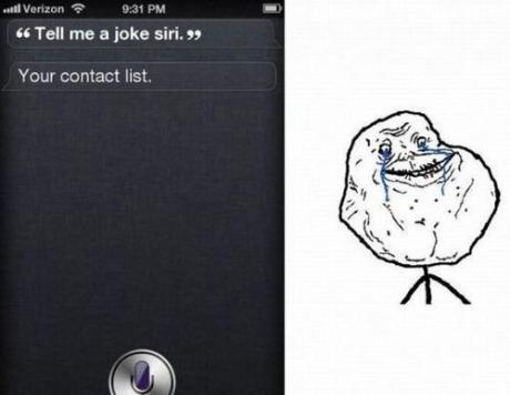 Siri's Epic Troll For Forever Alone