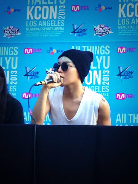 g-dragon artist engagement kcon 130824