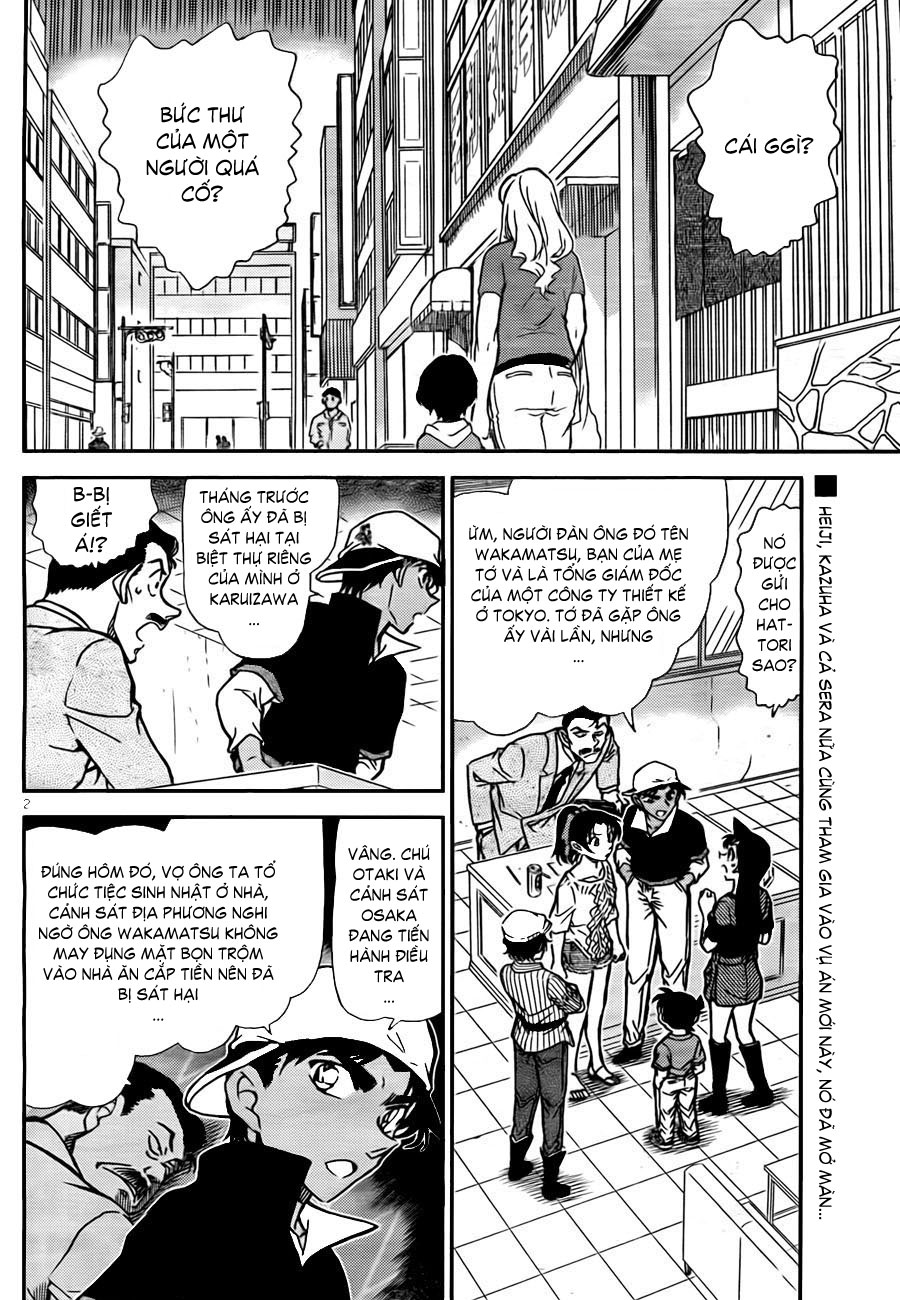 Detective Conan - Thám Tử Lừng Danh Conan chap 781 page 3 - IZTruyenTranh.com