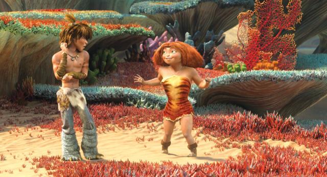 Imágenes de la película The Croods
