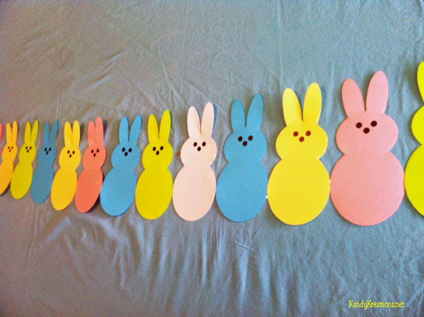 Easter Table Runner DIY