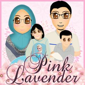 Banner Blog Pink Lavender, edit blog murah, design blog murah