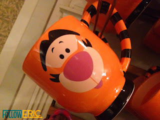 Tigger souvenir coffee mug found in Disneyland California