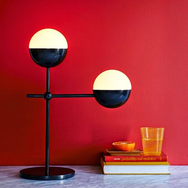 West Elm x Kate Spade Saturday Globe Table Lamp