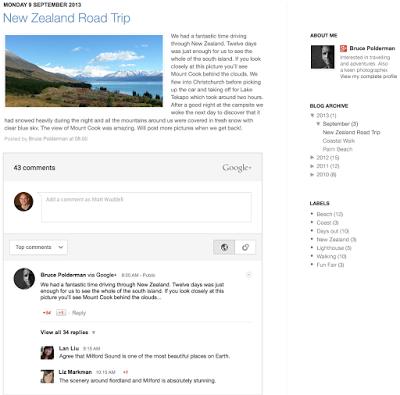 otomatis share google+