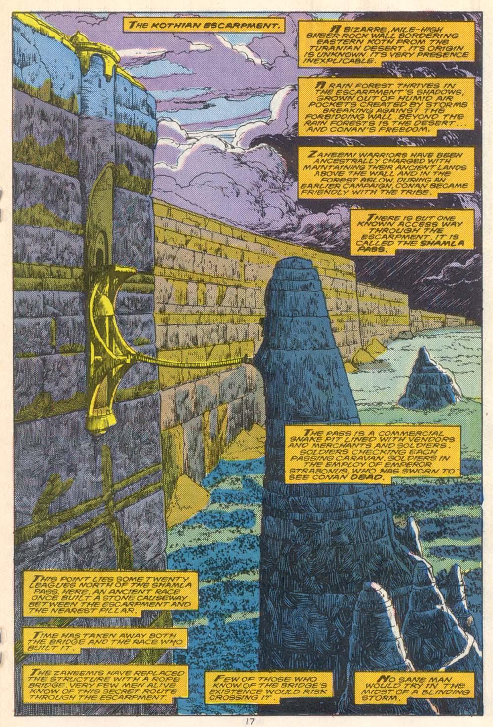 Conan the Barbarian (1970) Issue #210 #222 - English 14