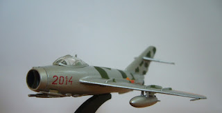 Mikoyan Gurevich Mig-17 F Fresco C Italleri collection